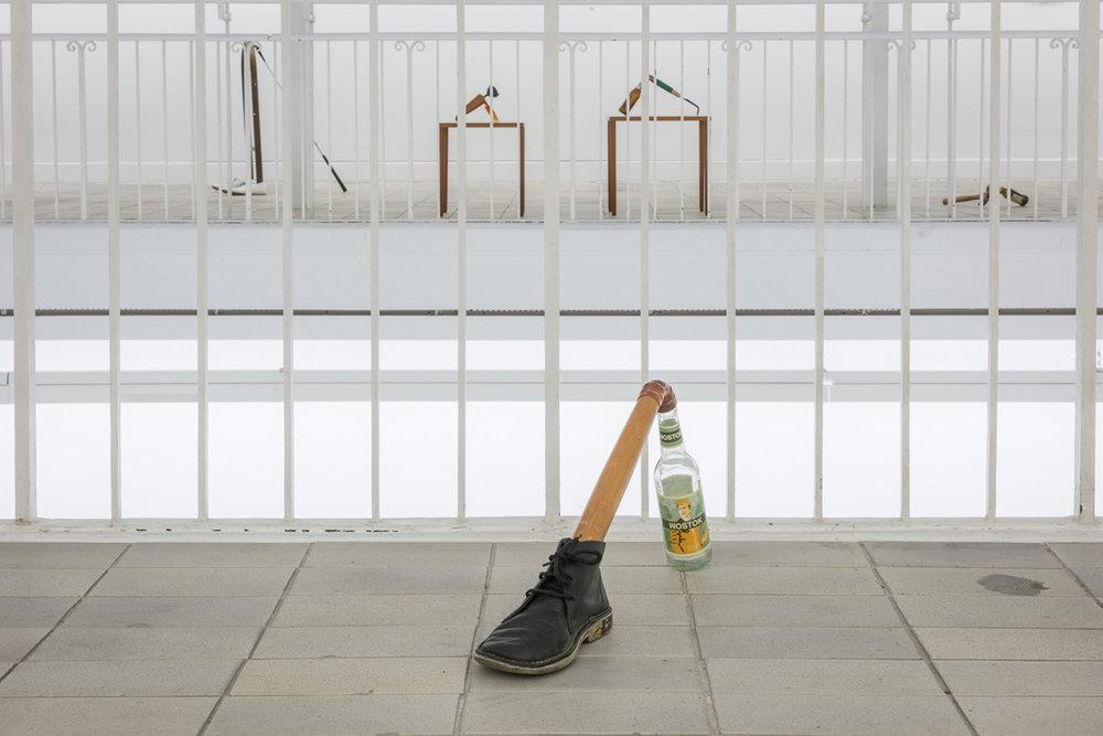 Installation View Katachrese Kunstverein Freiburg, Freiburg, DE 2016