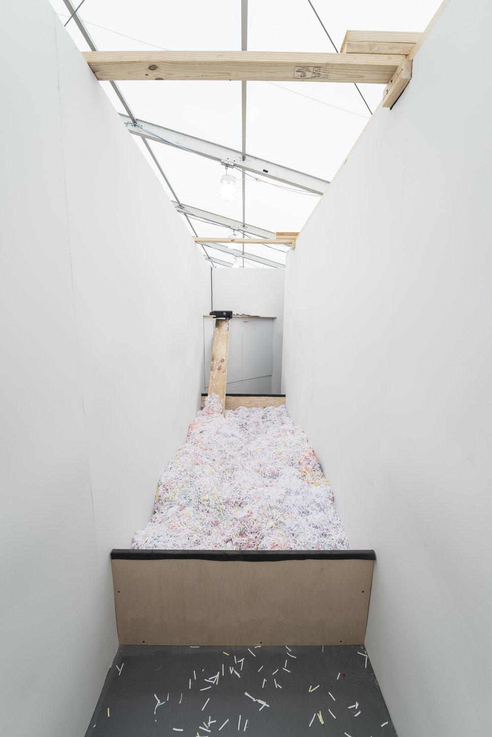 Frieze Projects: Tribute to Flux-Labyrinth (1976/2015)  Frieze New York, New York, US  2015