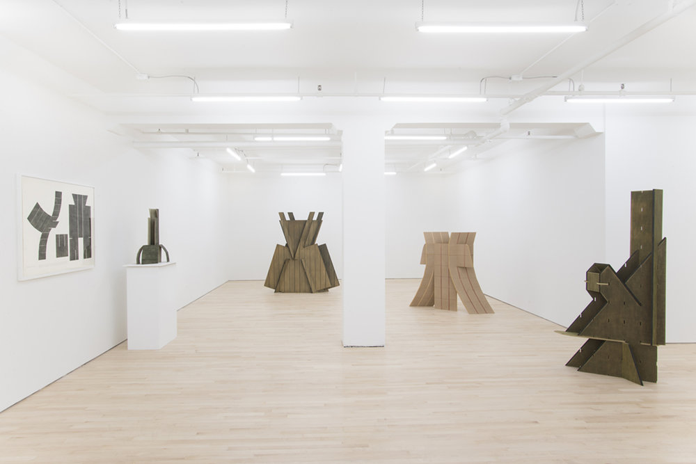 Installation View  Samurai  JTT, New York, US  2016