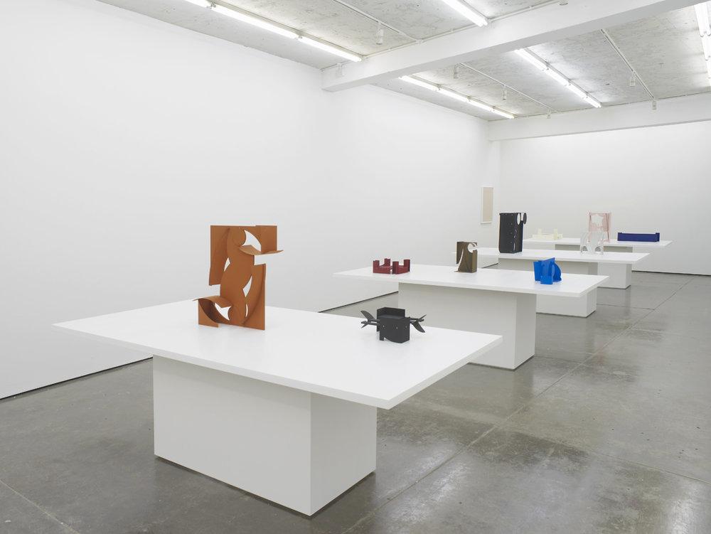 Matt Paweski Installation View Herald St, London 2017