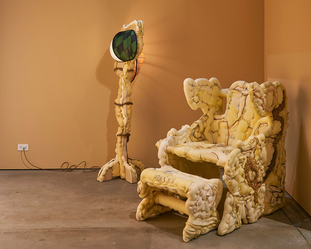 Now Showing: Jessi Reaves  Installation View SculptureCenter, New York, US 2016