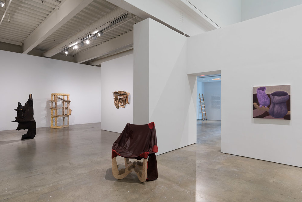 Jessi Reaves & Ginny Casey  Installation View  ICA, Philadelphia, US  2017