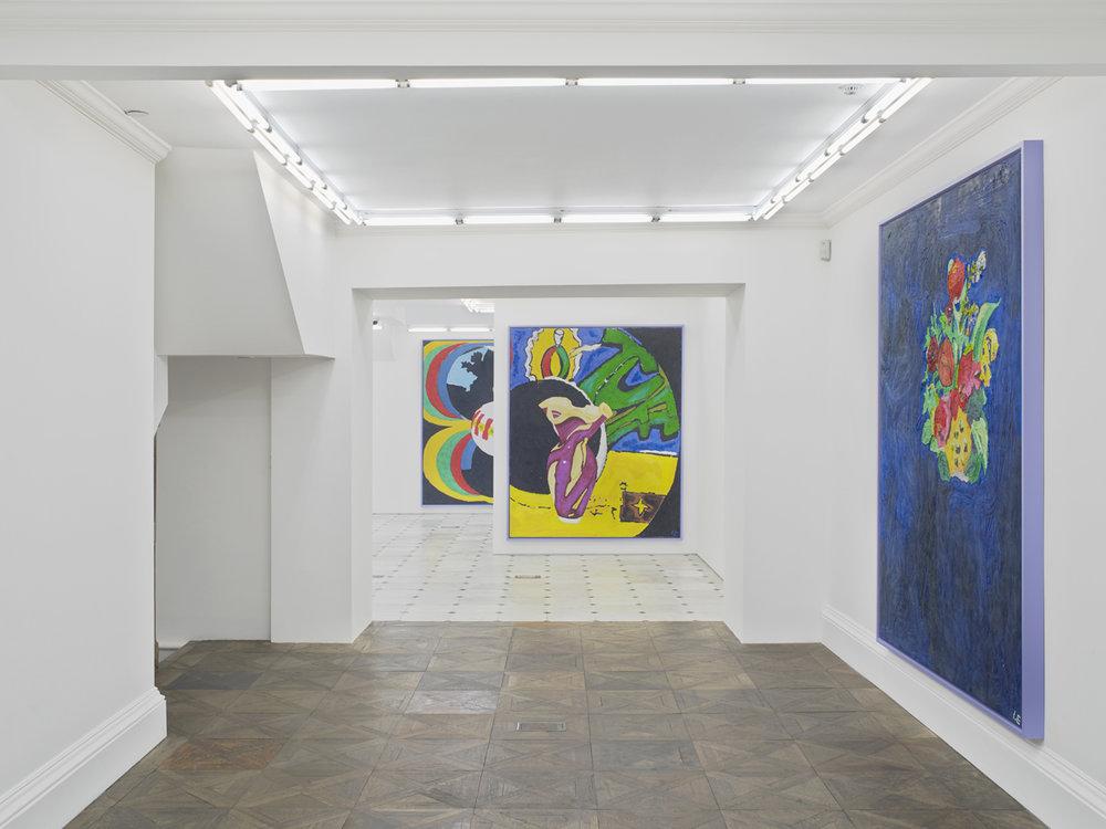 PROPER STUFF  Installation view  Museum St  2017