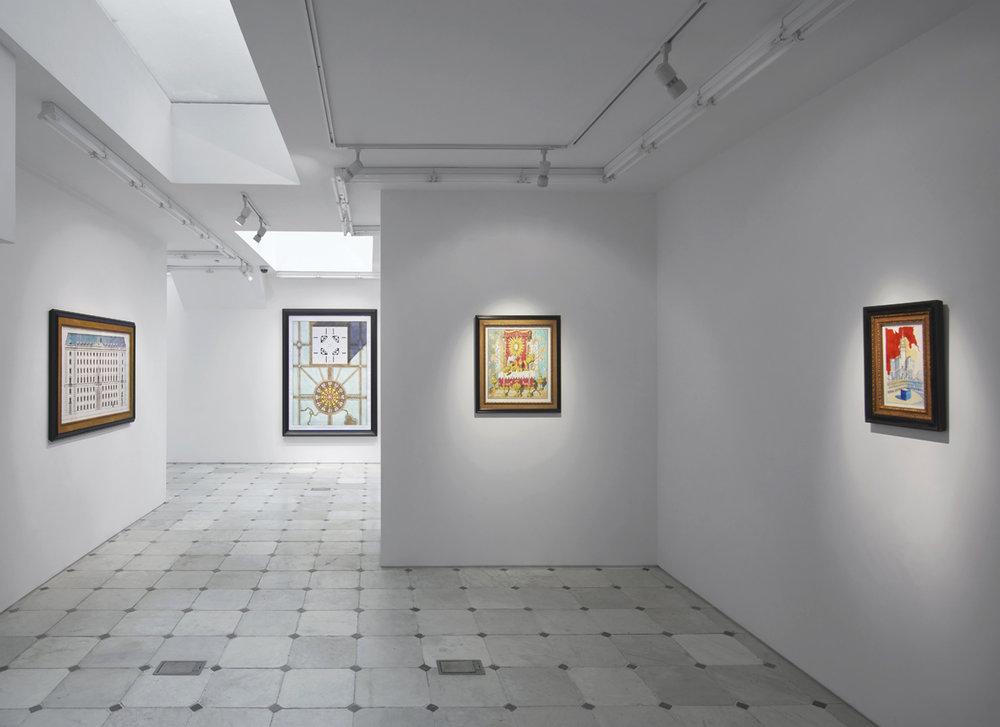 Installation view  Herald St | Museum St  2018
