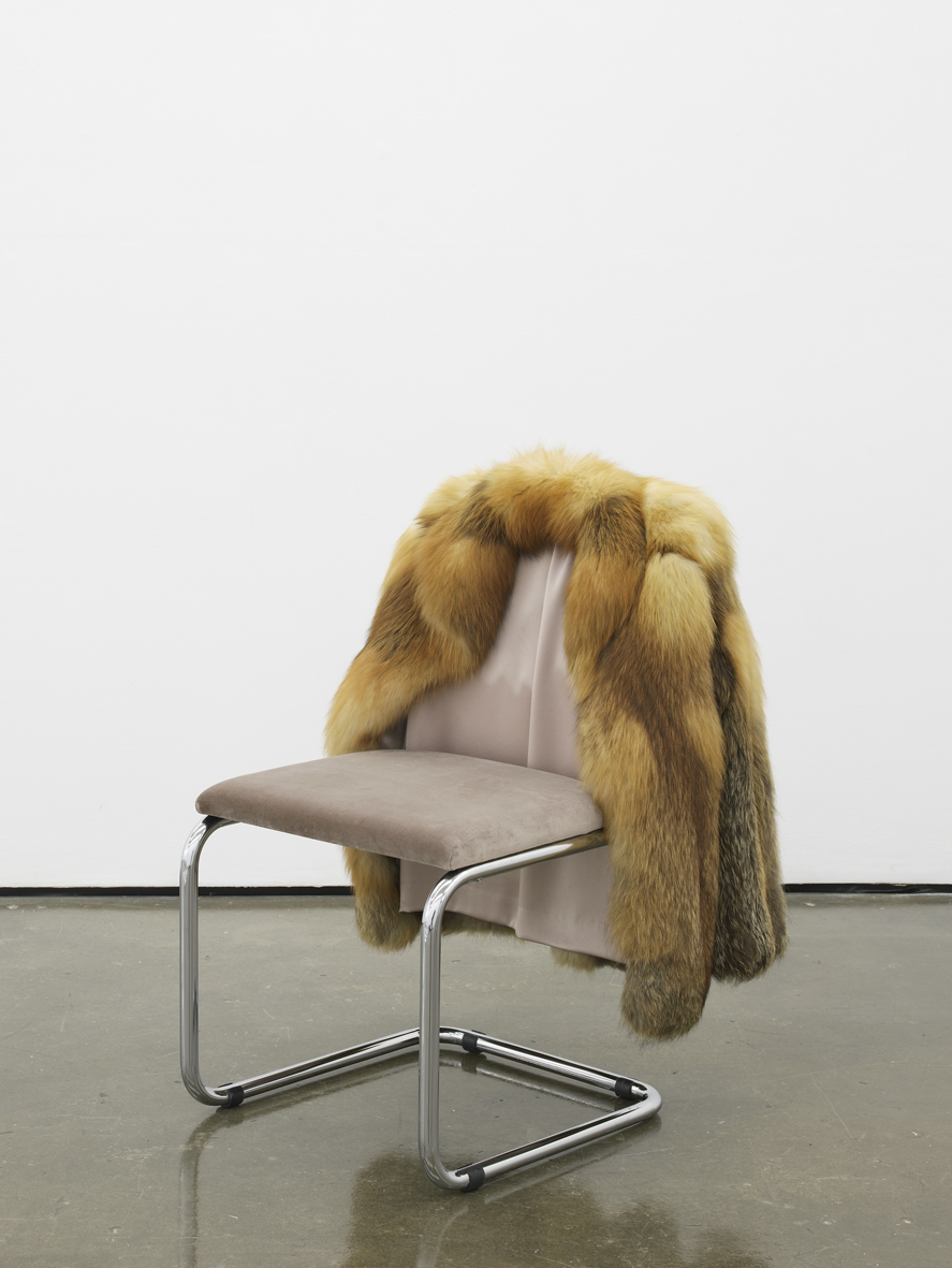 Untitled Chair - FXR3   2017   Vintage fur, steel tubing, upholstery, silk and velvet  85 x 65 x 60 cm / 33.4 x 25.5 x 23.6 in