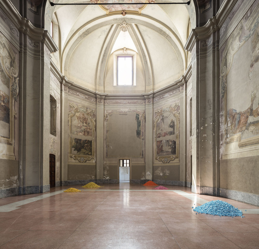 People Powder  Installation view  Fondazione Antonio Ratti, Como, IT  2018