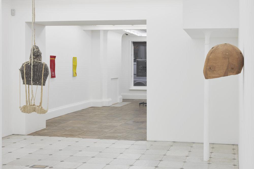 Installation view  Herald St   Museum St  2019
