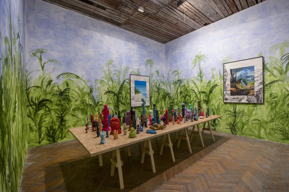 Djordje Ozbolt Installation view Belgrade Biennale: Marvellous Cacophony Kvaran, Belgrade, RS   2018