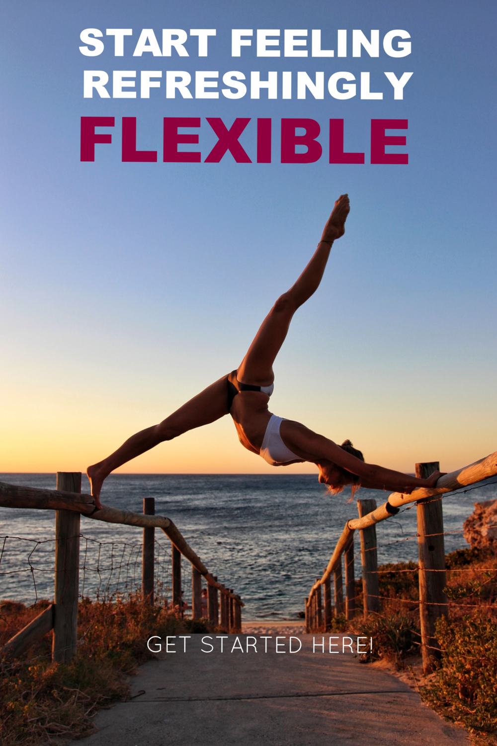 FIND OUT HOW TO STRESS LESS, RE-ENERGISE AND FEEL REFRESHINGLY FLEXIBLE!