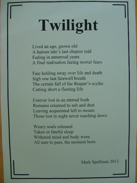 Twilight Poem
