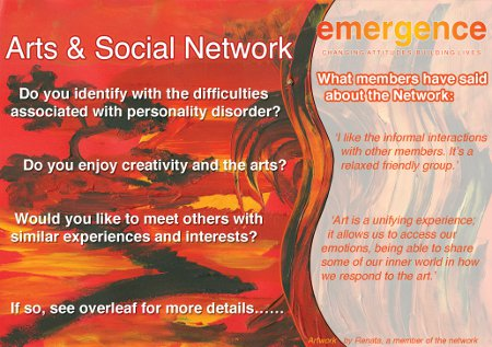 Emergence - Arts & Social Network
