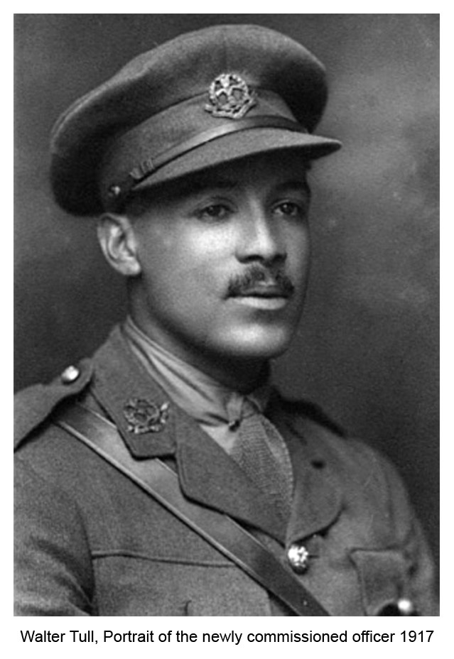 Walter Tull, the first Black officer in the British Army