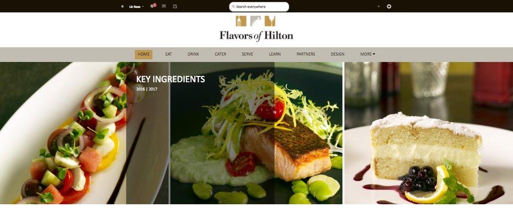 Flavors of Hilton Homepage.jpeg