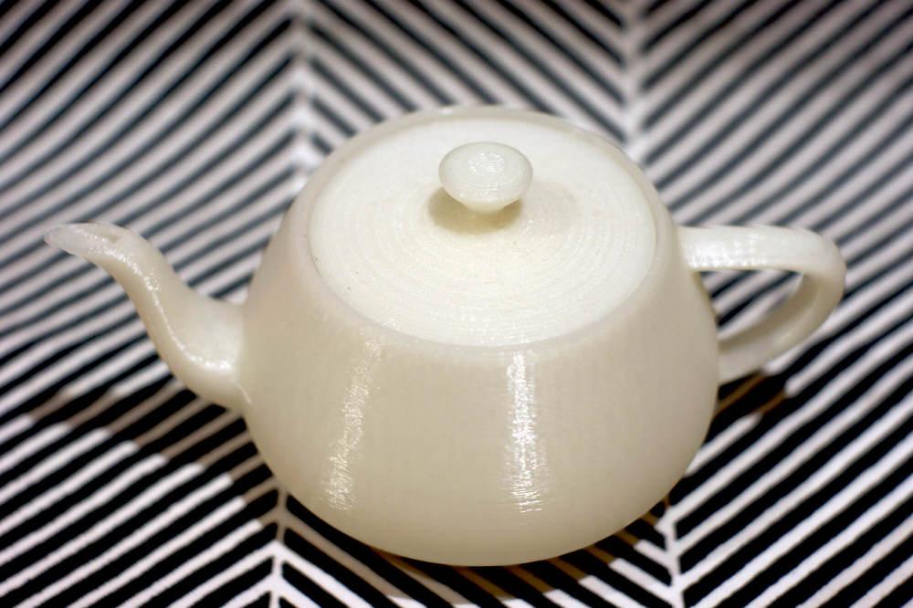 Utah Teapot, 2014, 3D printed teapot.