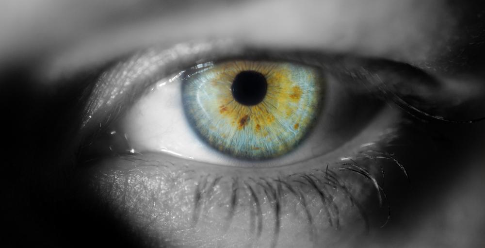 Green eyes Macro