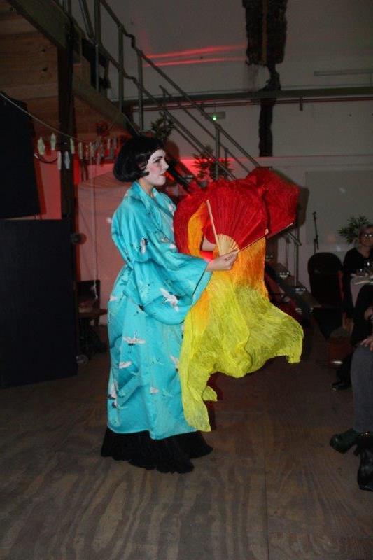 Asparagasm Burlesque Performance