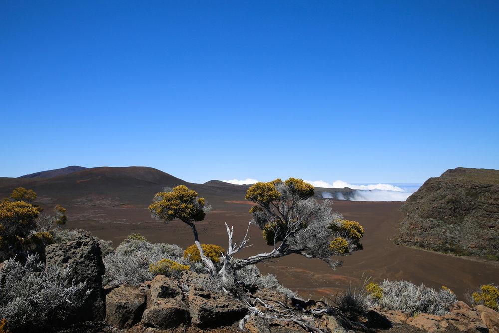Reunion Island, 2016. Volcano site