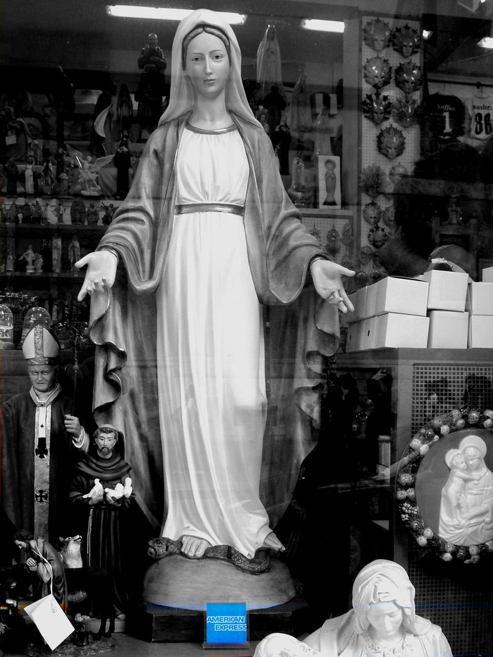 Madonna del Credito by GM Turi