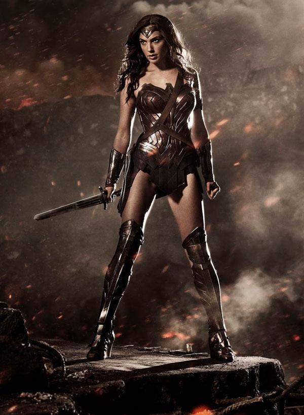 Primera imagen de la Mujer Maravilla.