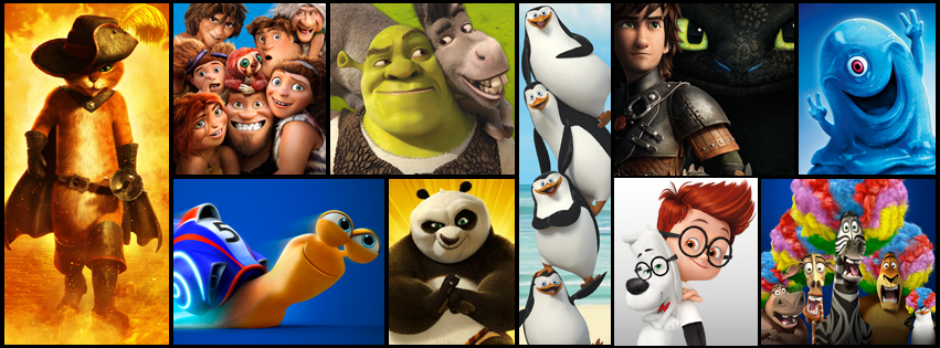 Dreamworks Animation cumple 20 años y cuenta con un  poderoso portafolio de  títulos  , al  que además está reforzando su  presencia  en la televisión. (Fuente Imagen: Facebook DreamWorks Animation)