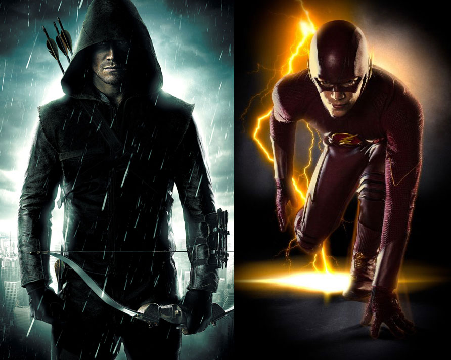 """""""Flash"""" surge como un spin off (extensión) de """"Arrow"""" y su estrenó en Latinoamérica será en Octubre."""