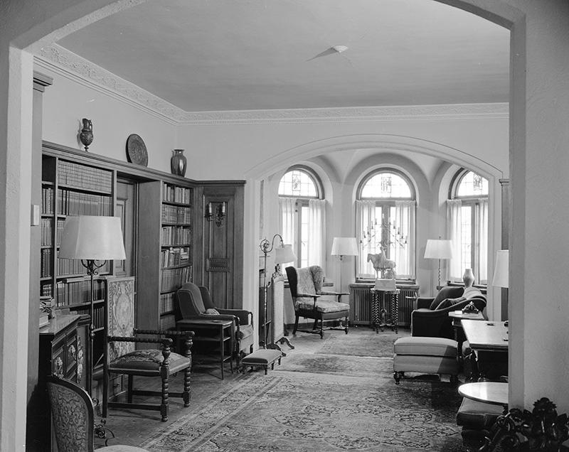 John Michael Kohler home library, 1964.
