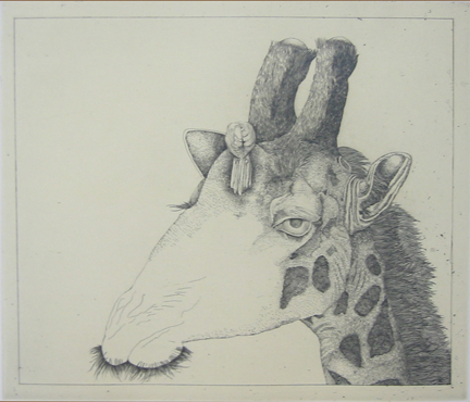 Untitled (giraffe)