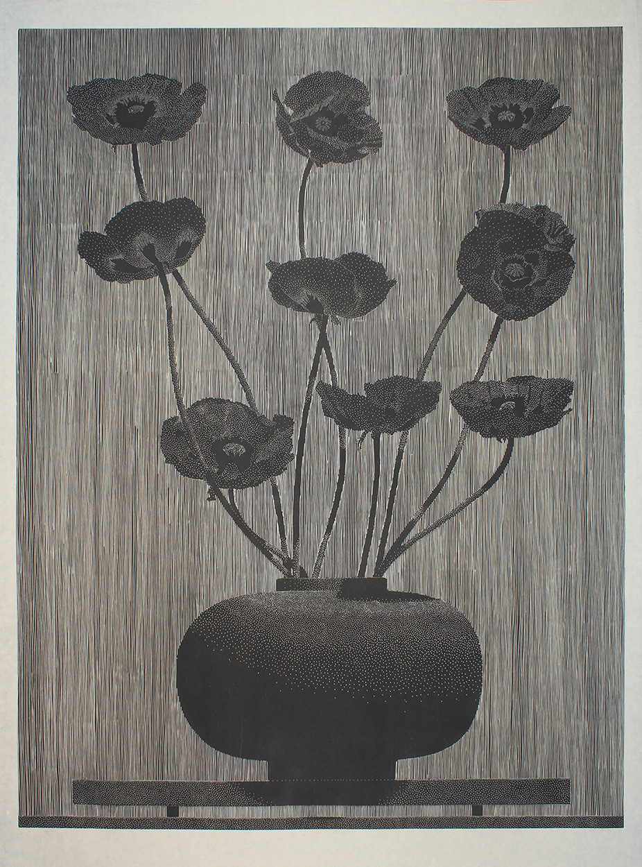 nine black poppies