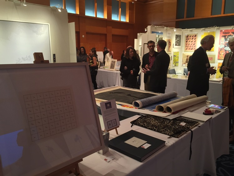 CSS at the 2015 The Minneapolis Print Fair's opening night, hosted by the Minneapolis Institute of Arts.