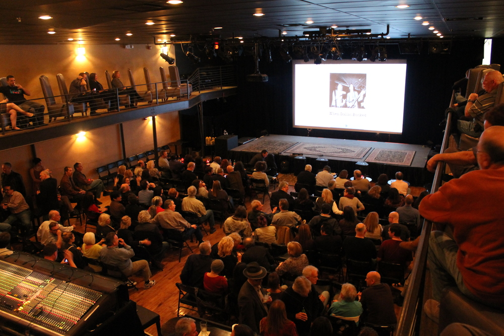 Packed house at the Kessler Theater a few weeks later.