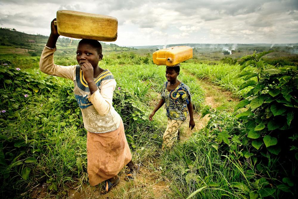 Smiling Rwandan Gals