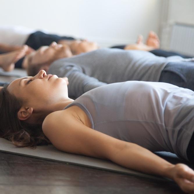 Nine Turns Meditation - a non-moving, reclining meditation