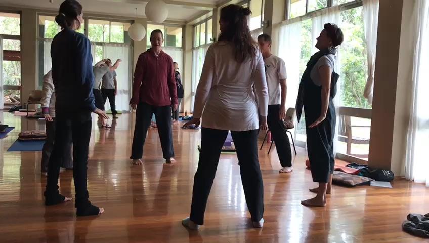 Small group practice, Australia Teacher Training 2018