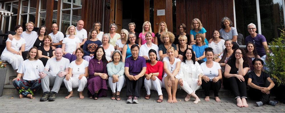 Sheng Zhen Teacher Training Vancouver, BC 2012