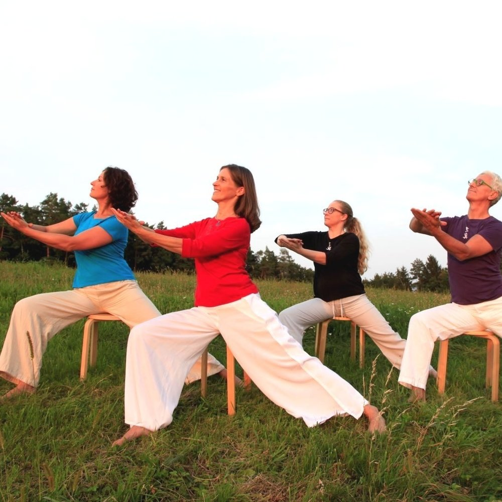 Sheng Zhen Healing Stage 3 - a seated, moving meditation