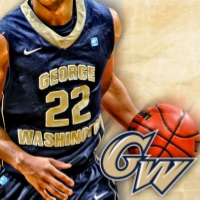 GW Men's Basketball team