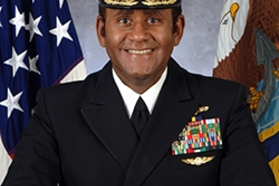 Retired Vice Admiral Mel Williams Jr. will guide university's work with veterans.