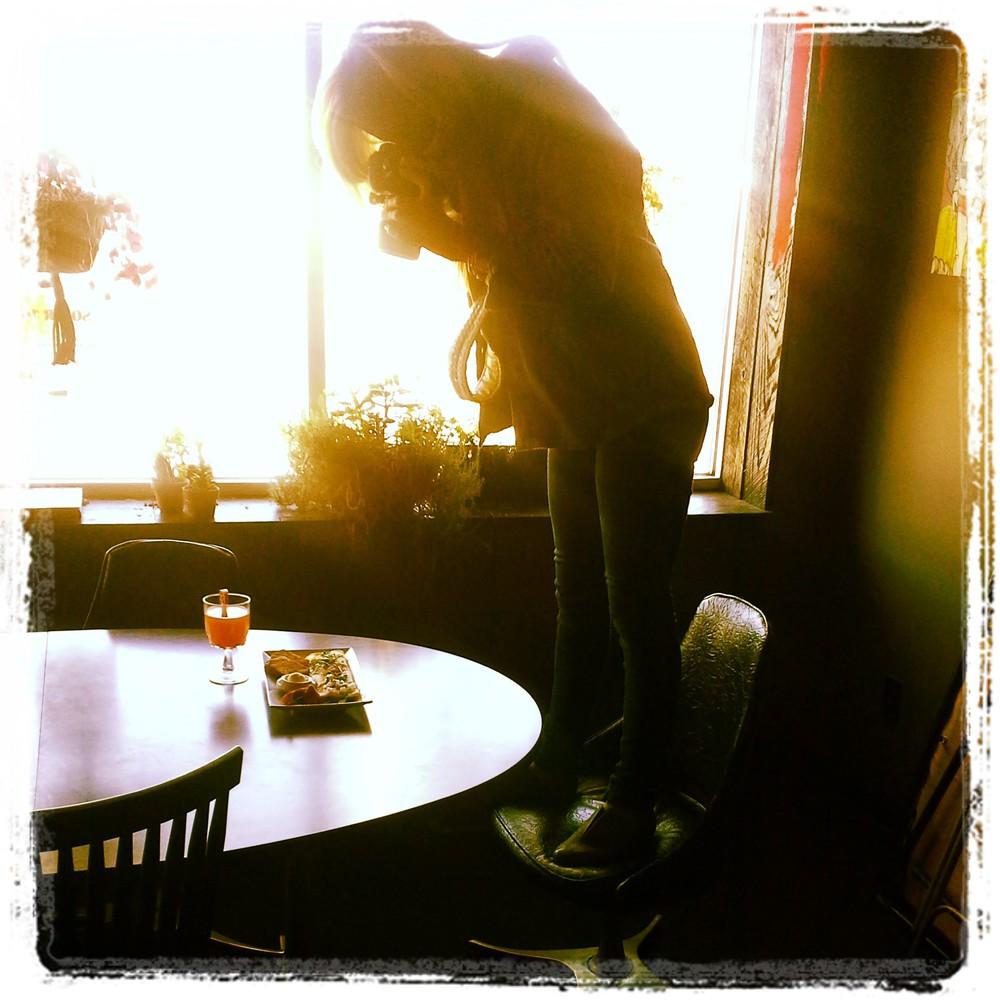 Alisha Sims capturing some PG goodness!