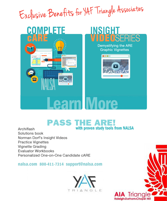 Don't struggle trying to figure out how NCARB wants you to solve the Graphic Vignettes.  Professor Norman Dorf, one time NCARB ARE grader, offered a legendary 7 hour lecture series demystify the graphic portions of the ARE vignette by vignette.  These video lectures will give you the understanding and confidence you need to tackle any of the Vignettes.  Having access to the videos you need as you move the the ARE means that this knowledge will be fresh in your mind as you take each section.  Don't waste potential study time trying to guess what NCARB is looking for.  Don't waste time on exam day designing around requirements you would consider in real life...but that don't factor into the computer grading program.