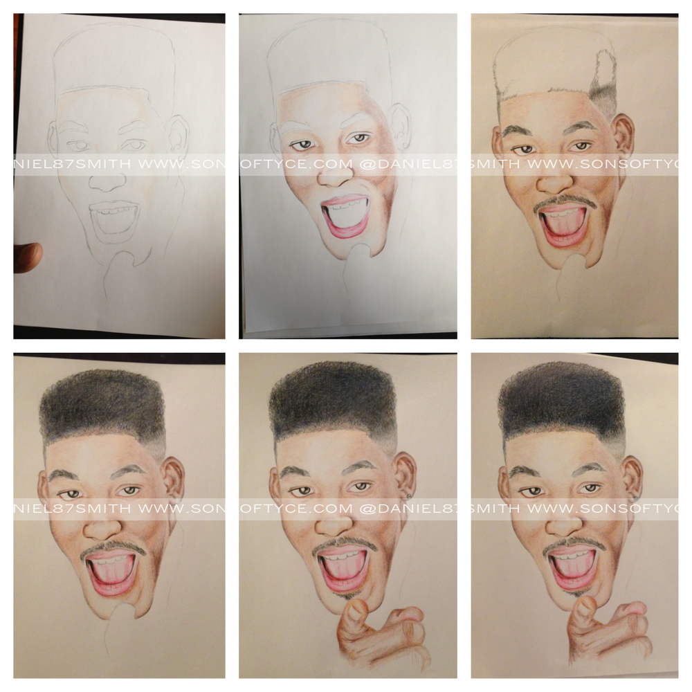 Will Smith (step by step)