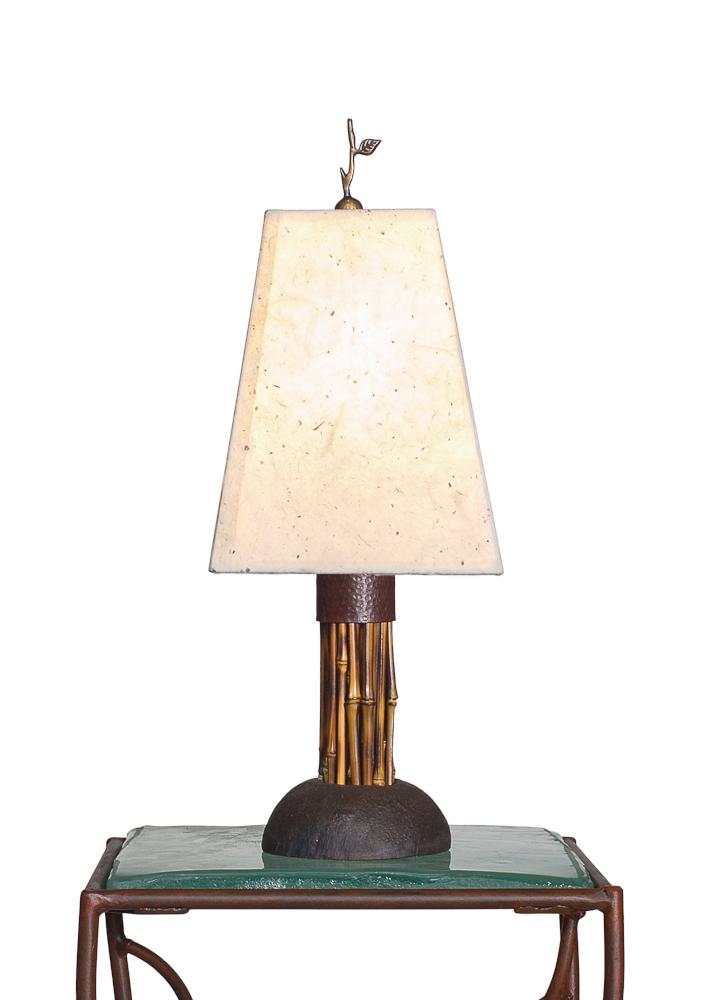 Baby Brown Bamboo Lamp
