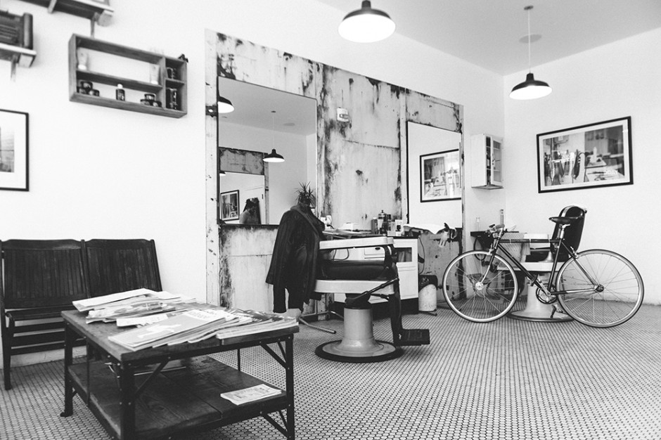 Pictures from Bevel Code,  Inside the Shop .