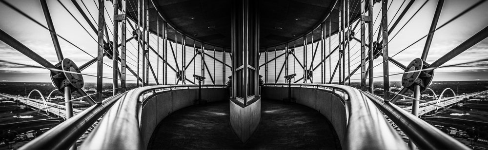 Reunion Tower - Hyatt Hotel