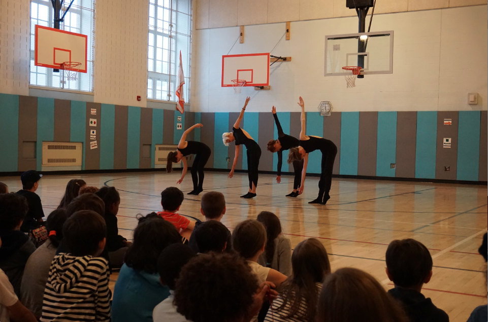 MCGD Dancers Performing for PS 133