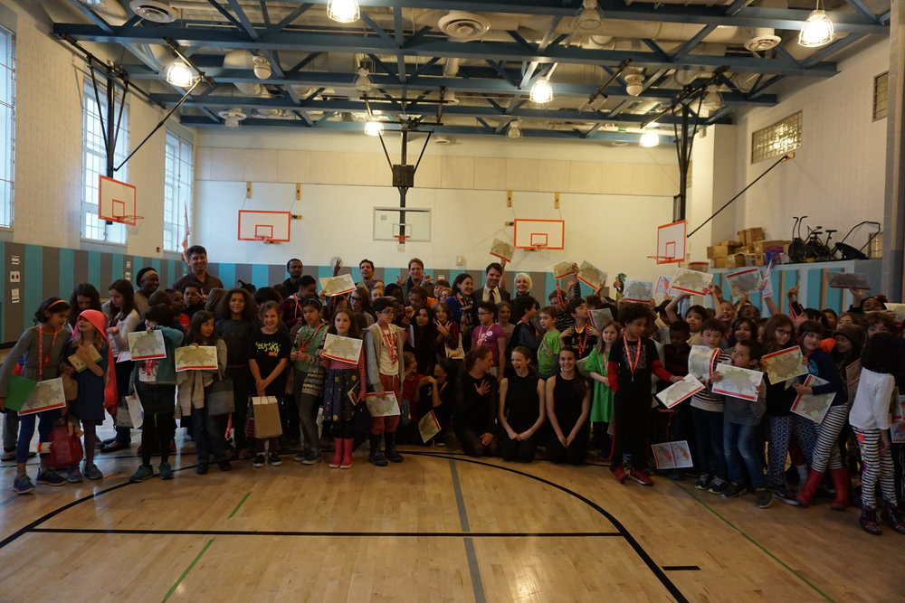 1st Performance for 2nd-4th graders at PS 133 as a part of the 'Adopt a School' Initiative