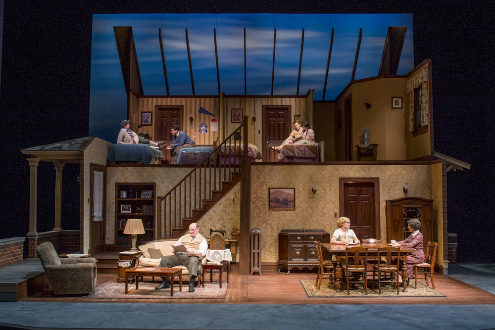 Brighton Beach Memoirs , Scenic Design, Purdue Theatre, 2013