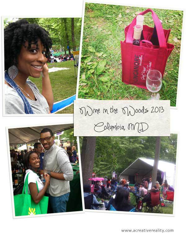 Wine in the woods 2013 collage