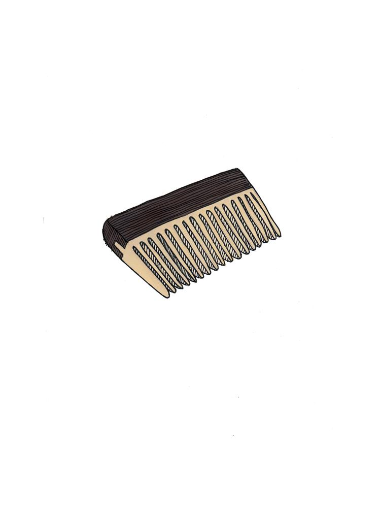 <i>Significant Object <br>(beard comb)</i>