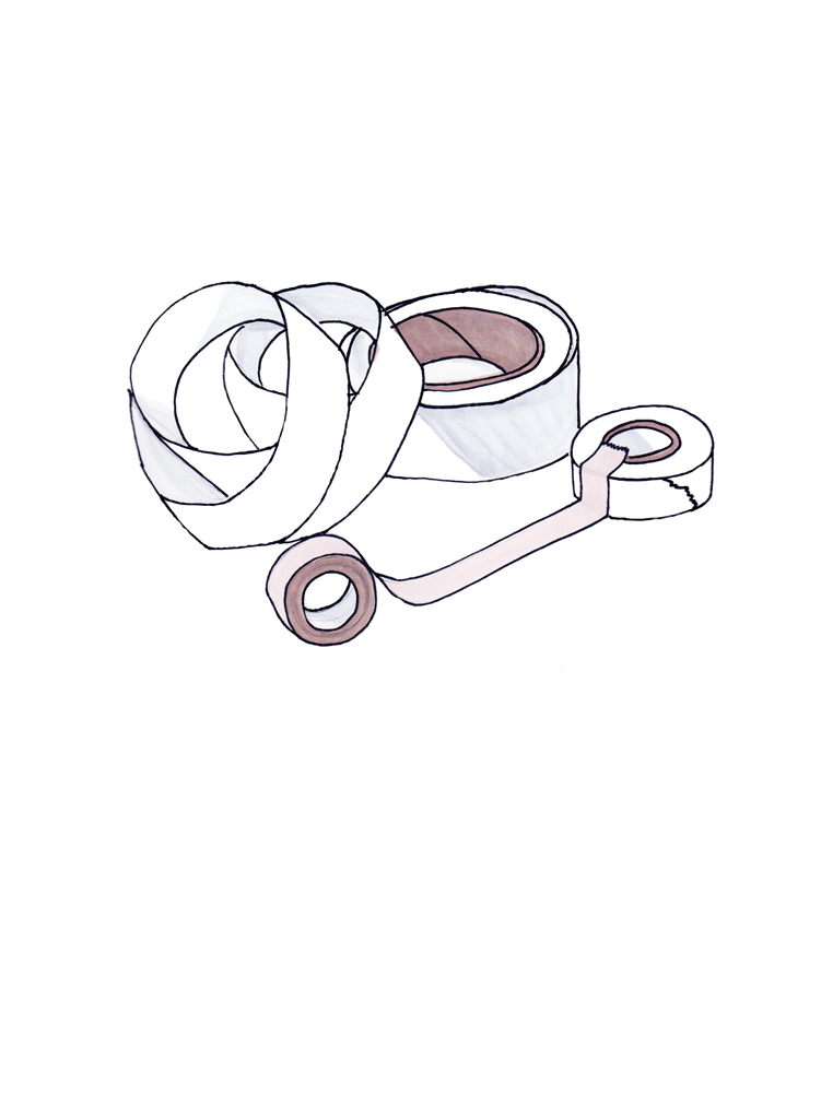 <i>Significant Object <br>(tape rolls)</i>