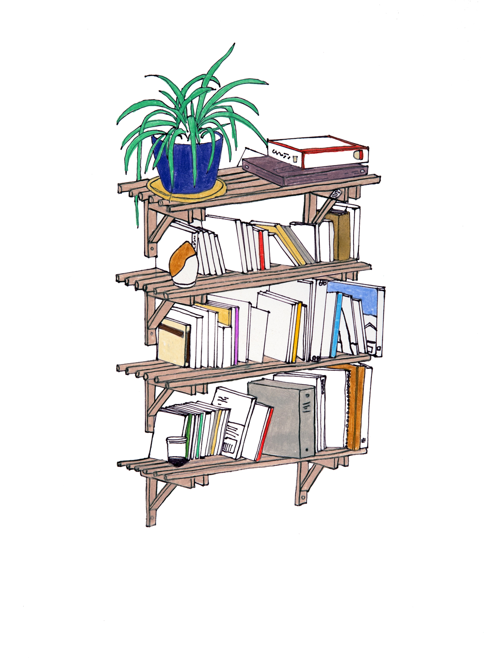 <i>Significant Object (bookshelves)</i>